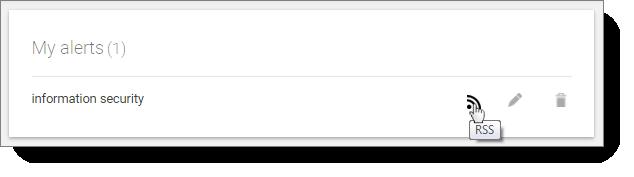My Google alerts