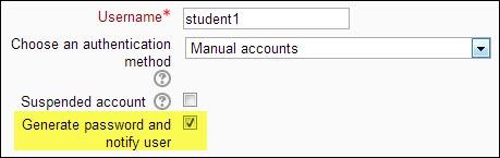 notify new user