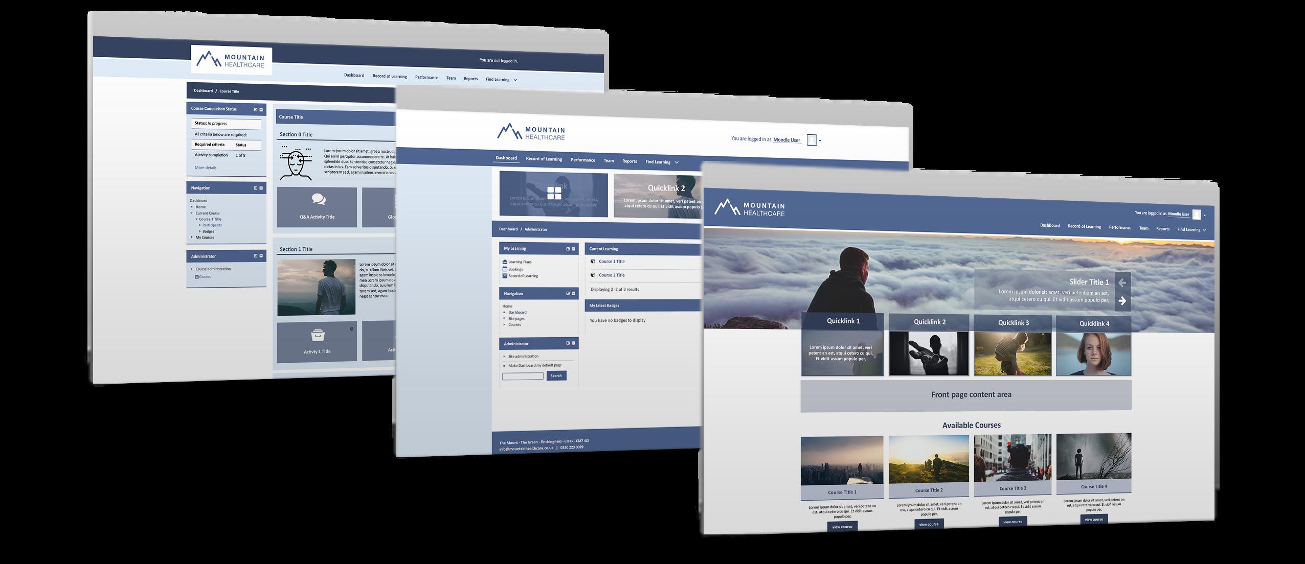 Mountain Healthcare Totara theme design concepts.png
