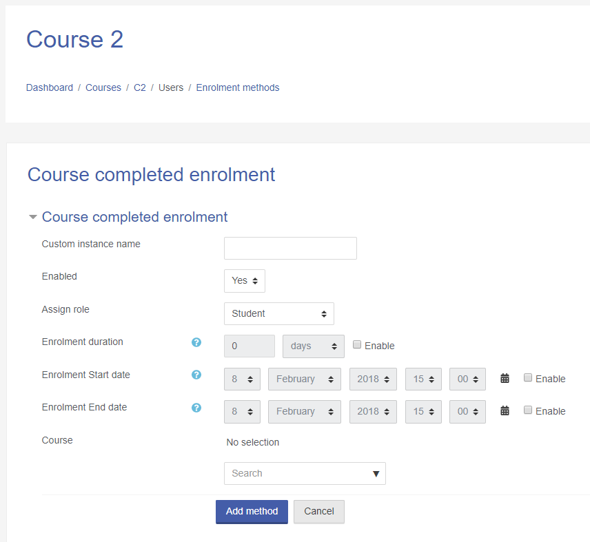 Course Completed Enrolment Configuration page.png