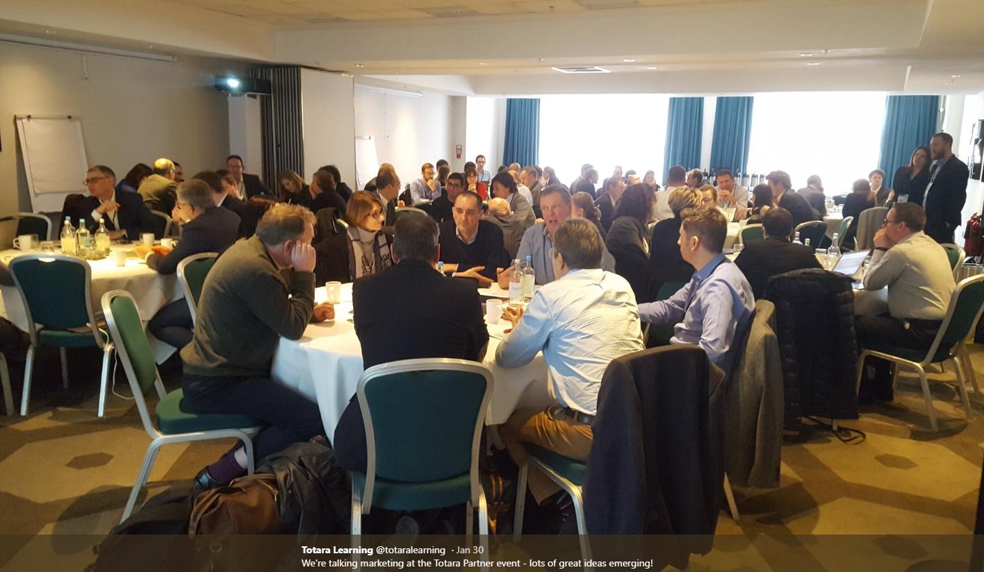 Totara Partners Meeting 30 January 2018 - Image ref https://twitter.com/totaralearning