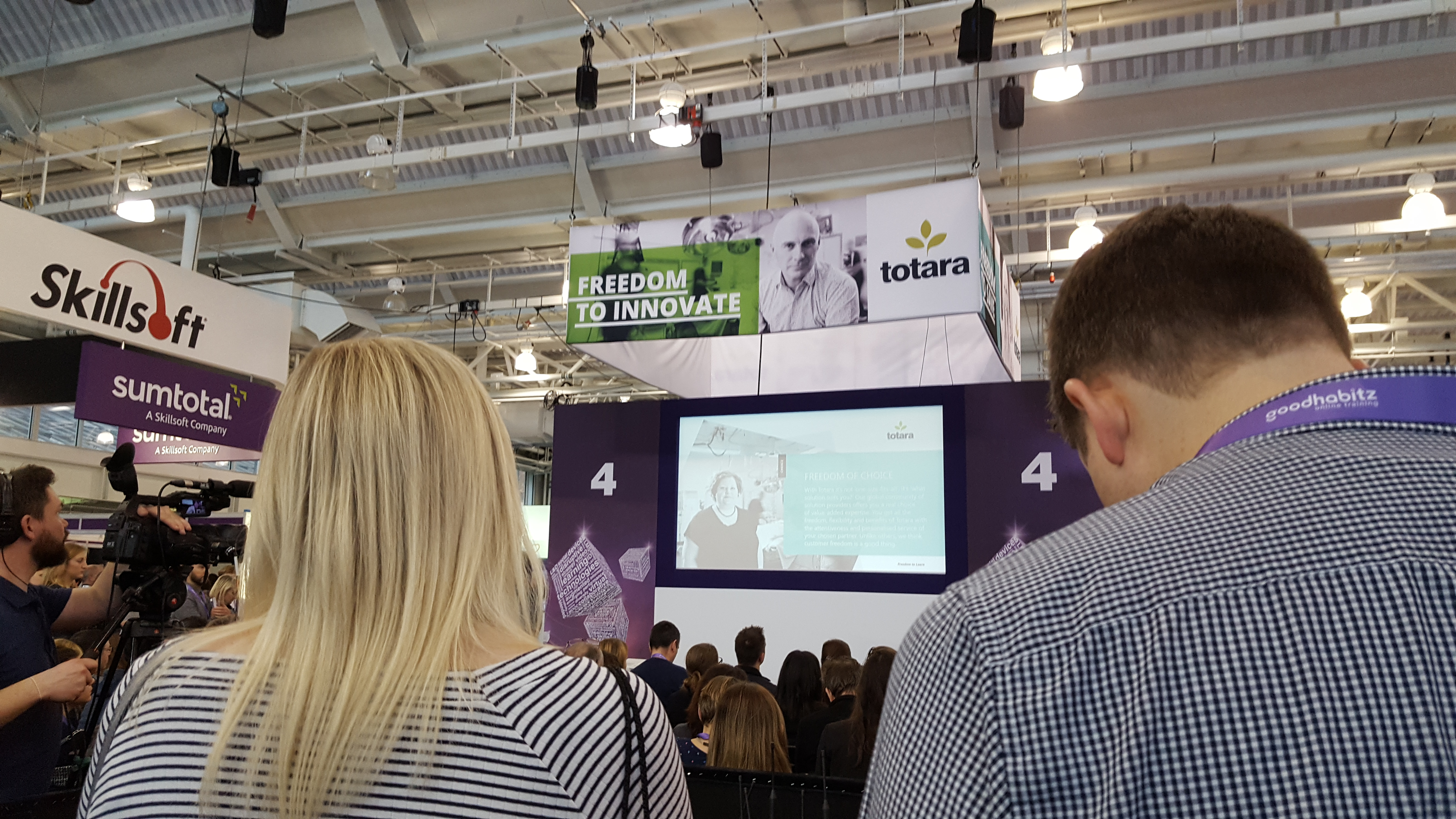 Totara at Learning Technologies 2018 | HowToMoodle