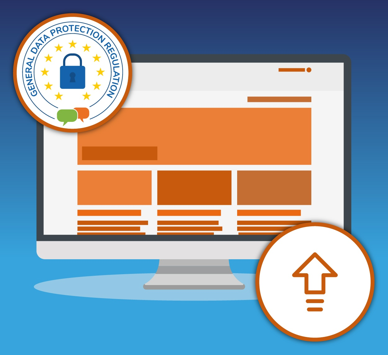 Upgrade your Moodle site and GDPR compliance