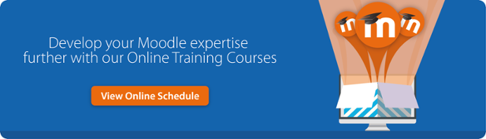 Develop your Moodle skills further with our online Moodle Training