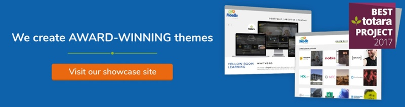 Moodle and Totara theme examples
